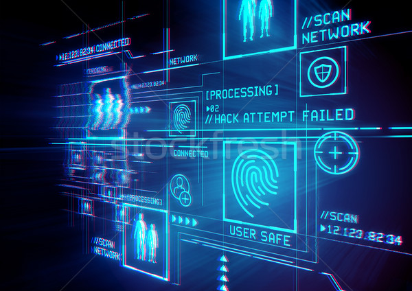 Digital Security ID Protection Stock photo © solarseven