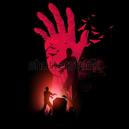 Zombie Hand Rising Stock photo © solarseven