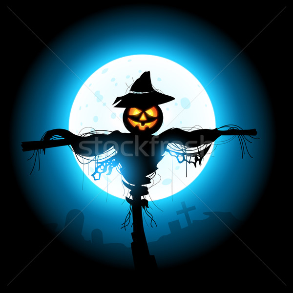 Halloween Scarecrow Stock photo © solarseven
