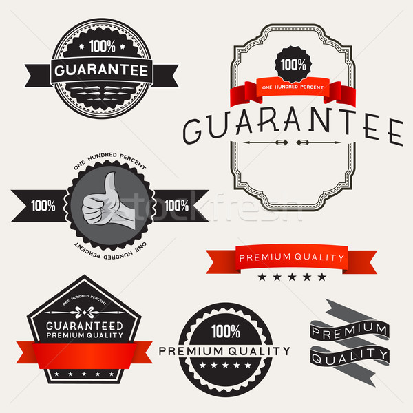 Vector Retro Label Designs Stock photo © solarseven