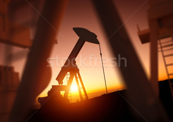 Oil and Power Industry Stock photo © solarseven