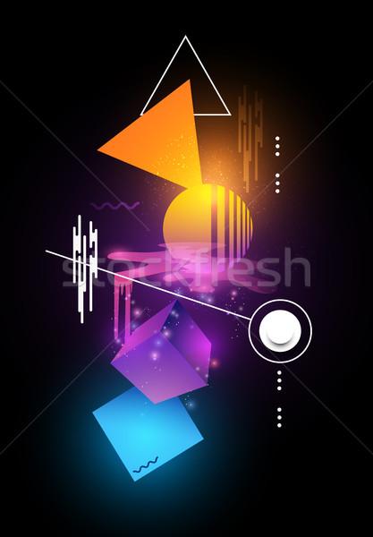 Modern Abstract illustration Stock photo © solarseven