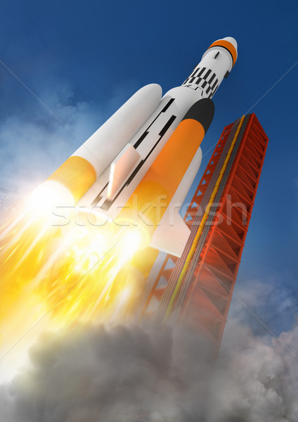 Blast Off! Stock photo © solarseven