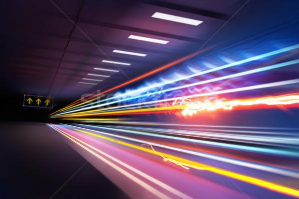 Super Light trails Stock photo © solarseven