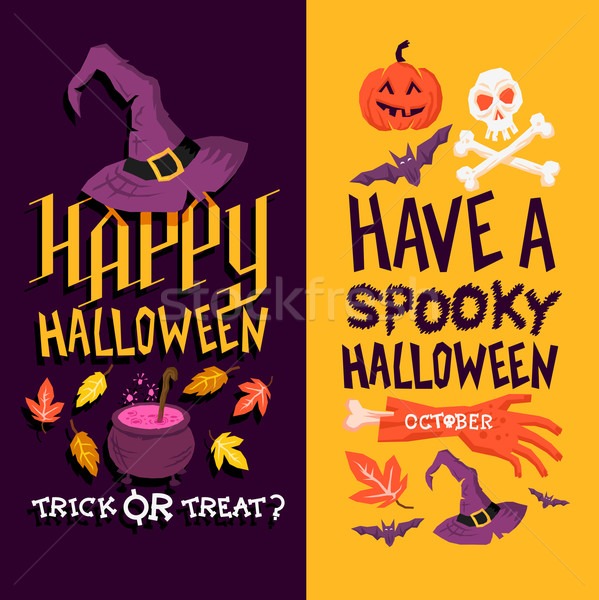 Stock photo: Halloween Backgrounds