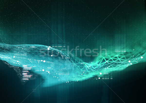 Data Visualization Background Stock photo © solarseven