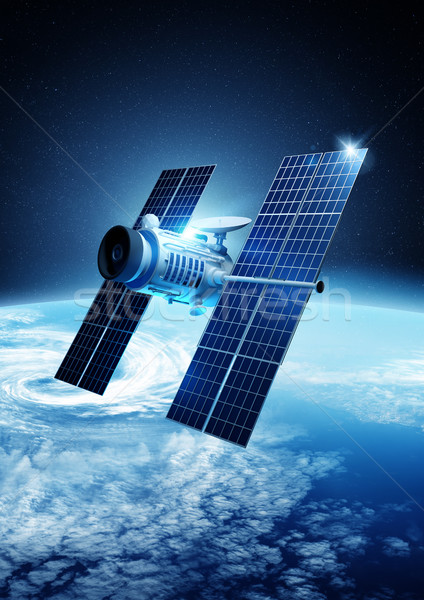 Stock photo: Satellite Communications