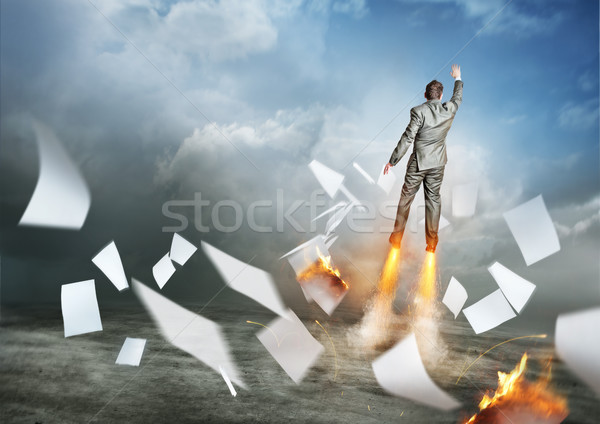 Stock photo: Heading Upwards