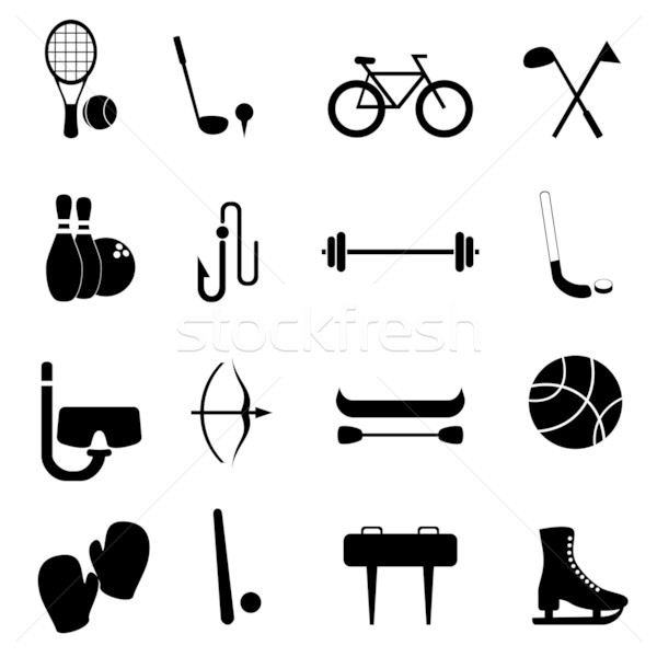 Sports and leisure equipment Stock photo © soleilc