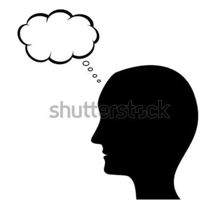 Thinking man Stock photo © soleilc