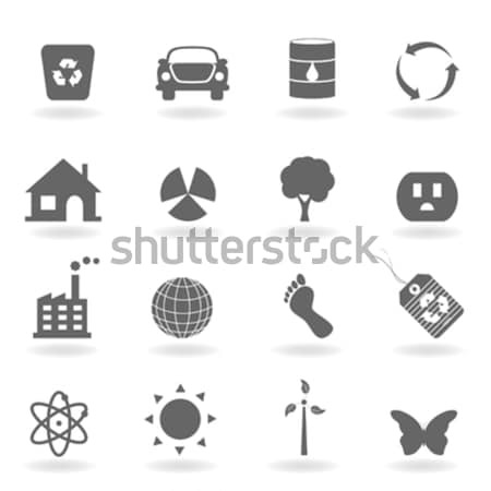 Ecoloy and Environment Symbols Stock photo © soleilc