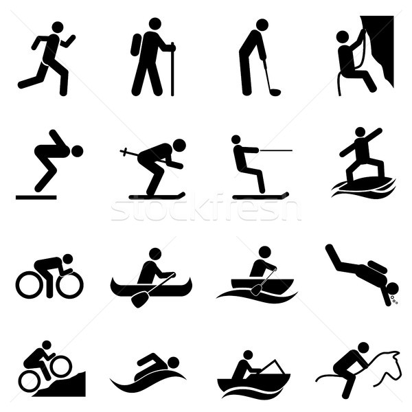 Leisure sports and outdoor activities Stock photo © soleilc