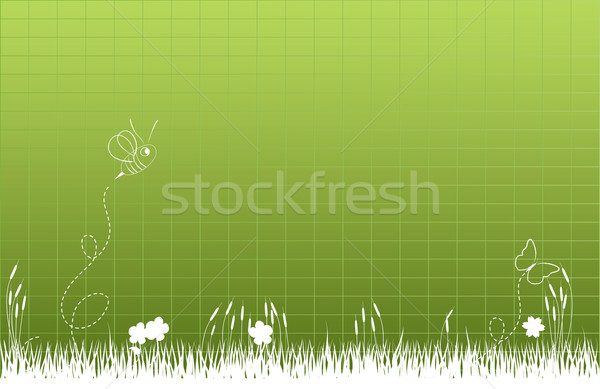 Thick tall grass Stock photo © soleilc
