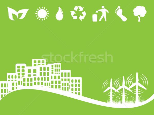 среде Эко альтернатива Чистая энергия Сток-фото © soleilc