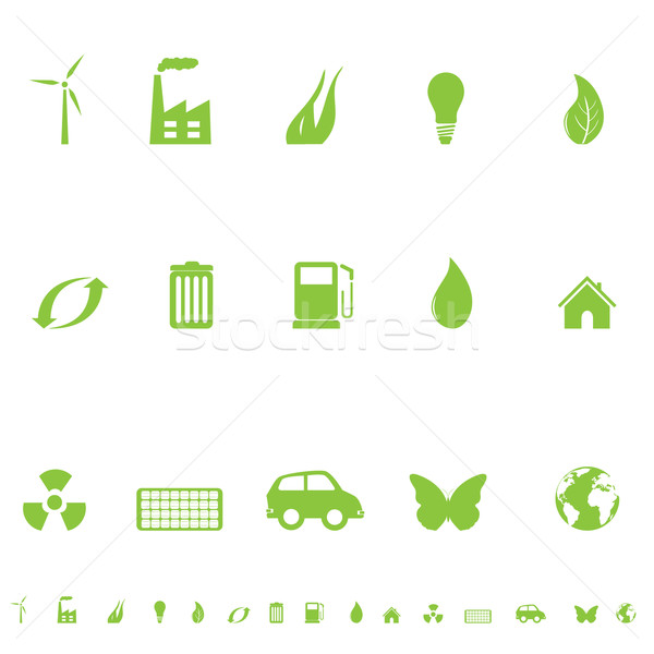 General Eco Symbols Stock photo © soleilc