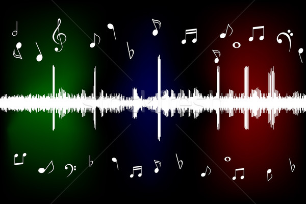 Sound wave Stock photo © soleilc