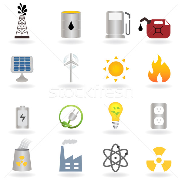 Clean alternative energy and environment Stock photo © soleilc