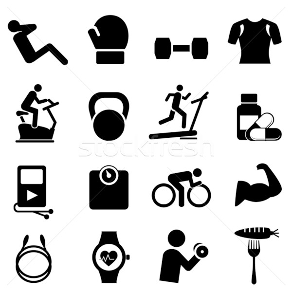 Fitness, diet and healthy living Stock photo © soleilc