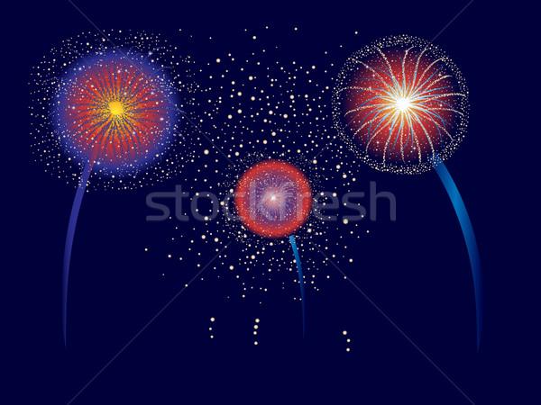 Fireworks Display Stock photo © soleilc