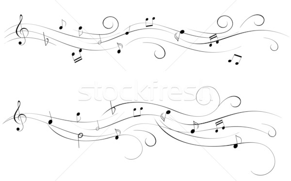 Sheet music Stock photo © soleilc