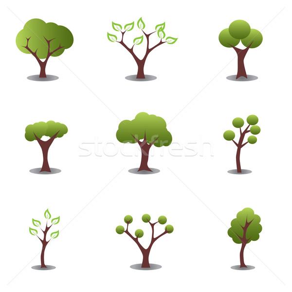 Various trees Stock photo © soleilc
