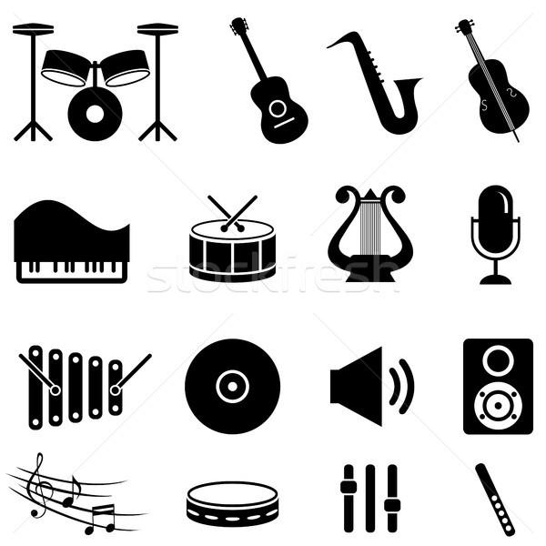 楽器 音楽 ギター キーボード スピーカー ストックフォト © soleilc