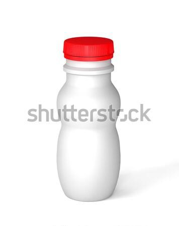 Сток-фото: бутылку · йогурт · природы · фон · жизни · еды