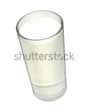 Glass with milk Stock photo © sommersby