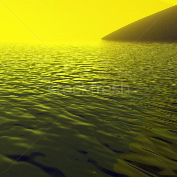 Сток-фото: аннотация · воды · природы · свет · морем · фон