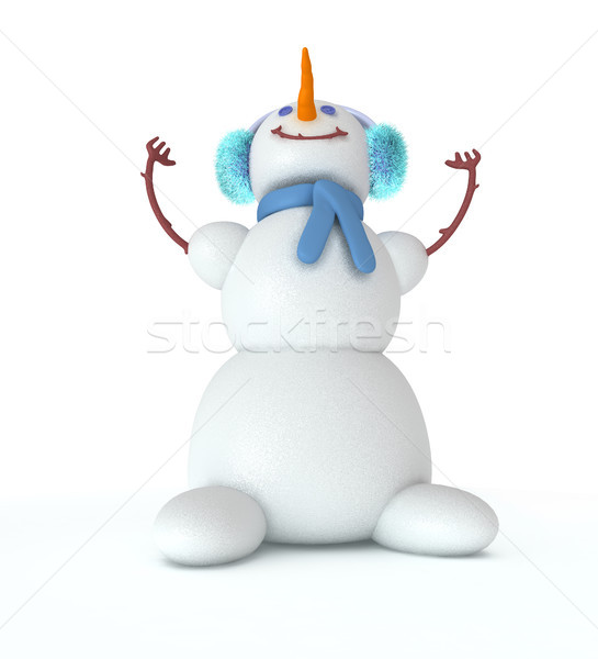 Snowman3 Stock photo © sommersby