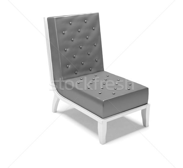 современных кресло изолированный белый аннотация дизайна Сток-фото © sommersby