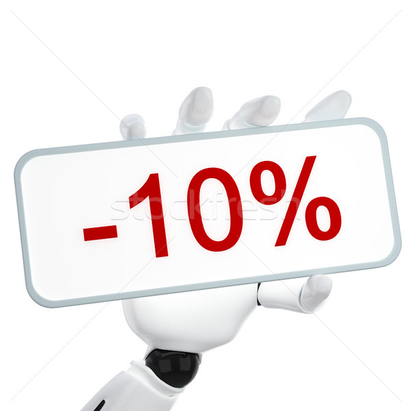 -10% Stock photo © sommersby