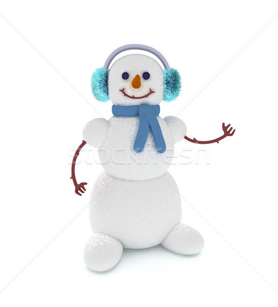 Snowman 2 Stock photo © sommersby