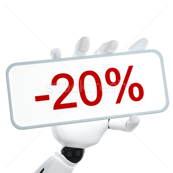 -20% Stock photo © sommersby