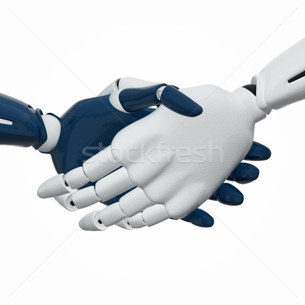 Handshake 2 Stock photo © sommersby