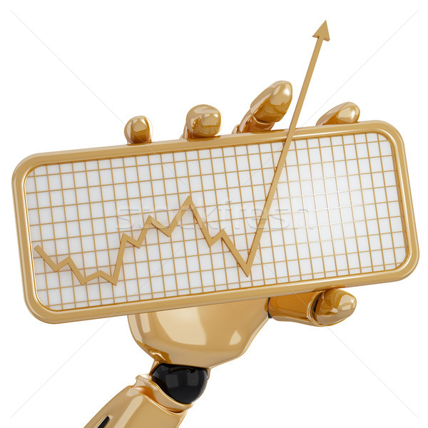 Graph moving up Stock photo © sommersby