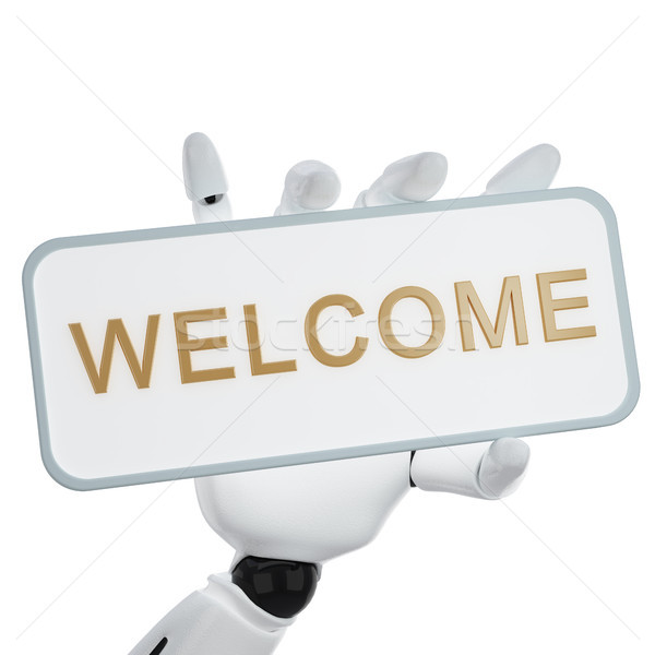 Welcome Stock photo © sommersby