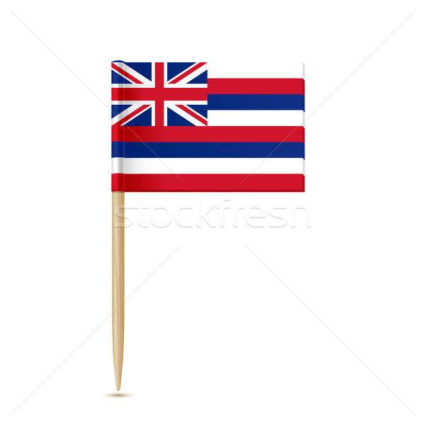 Hawaii flag toothpick Stock photo © sonia_ai