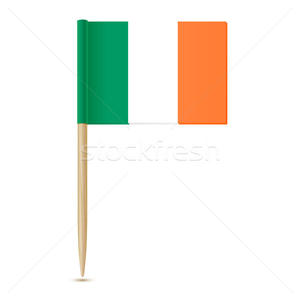 Ireland flag toothpick 10eps Stock photo © sonia_ai