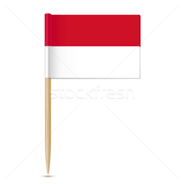 Flag of Indonesia Stock photo © sonia_ai