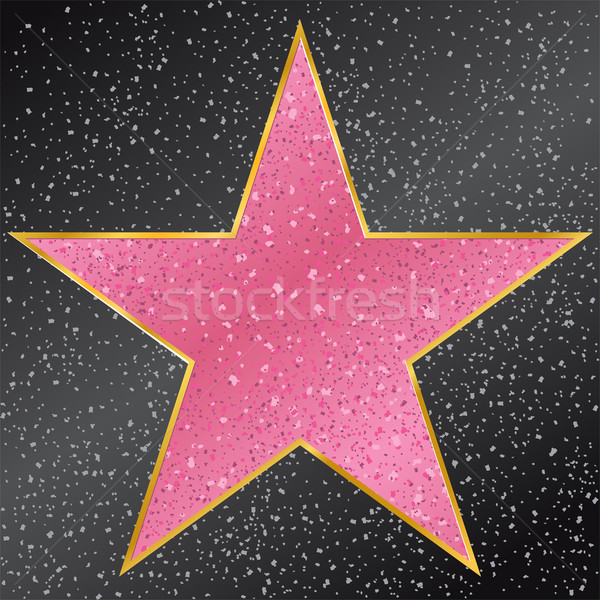 Star. Hollywood Walk of Fame Stock photo © sonia_ai