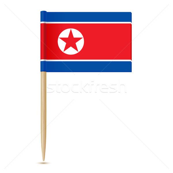Сток-фото: флаг · север · карта · фон · путешествия · ветер