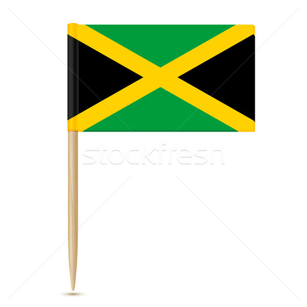 Jamaica Flag toothpick 10eps Stock photo © sonia_ai