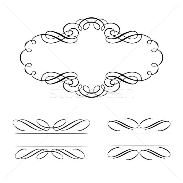 Ontwerp communie geïsoleerd witte abstract Stockfoto © sonia_ai