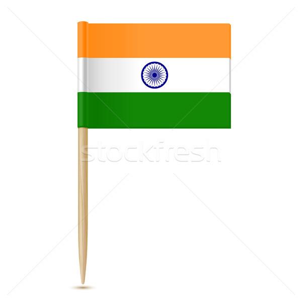 Bayrak Hindistan kâğıt dizayn arka plan savaş Stok fotoğraf © sonia_ai