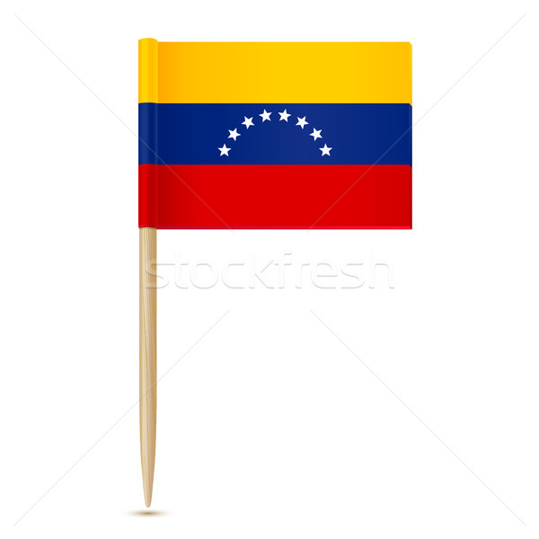 Flag of Venezuela. Flag toothpick 10eps Stock photo © sonia_ai