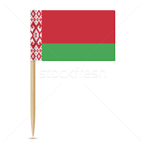 Belarus flag toothpick 10eps Stock photo © sonia_ai