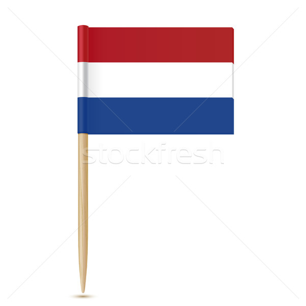 Netherlands flag toothpick Stock photo © sonia_ai