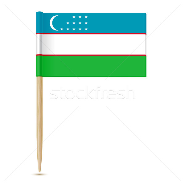 Flag of Uzbekistan Stock photo © sonia_ai