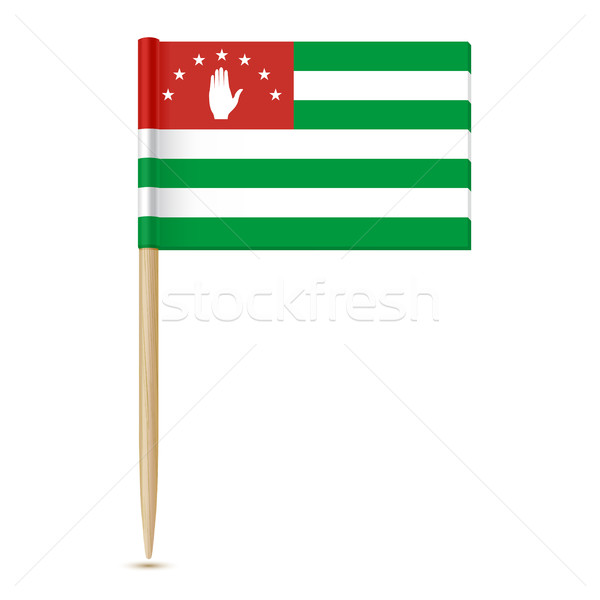 Flag of Abkhazia 10eps Stock photo © sonia_ai